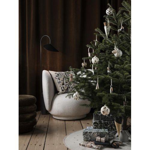 Podložka pod vánoční stromek Black Star Ø 120 cm