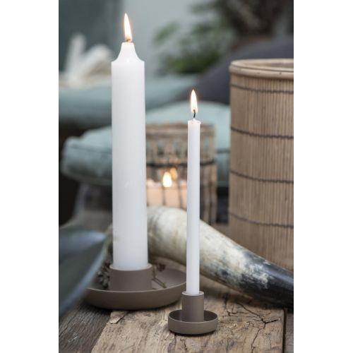 Vysoká svíčka Rustic White 25cm