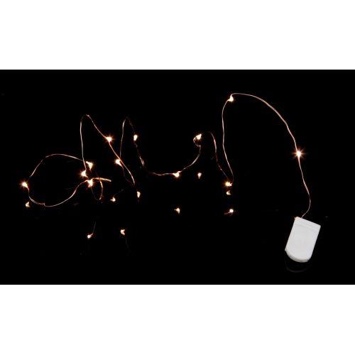 Svítící LED drátek Copper String