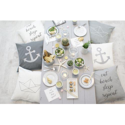 Bavlněný povlak na polštář Paper Boat