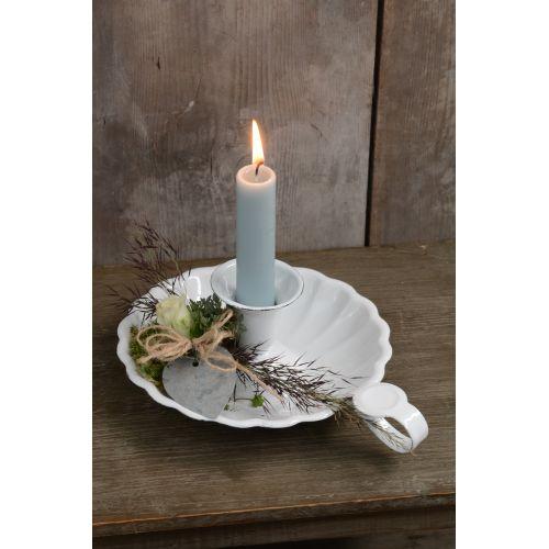 Svíčka světle modrá - set 6 ks