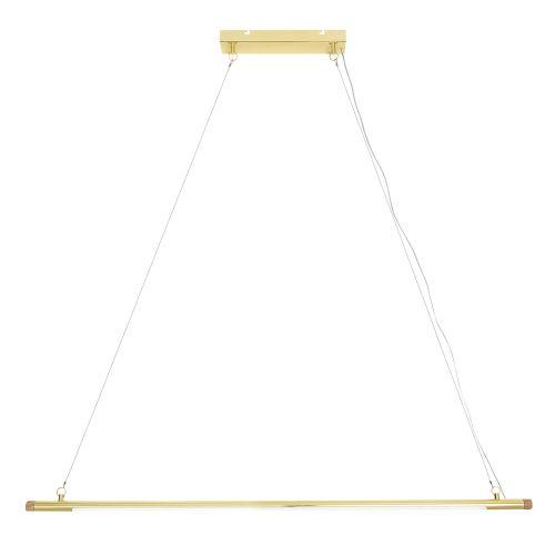 Závěsná LED lampa Gold Metal