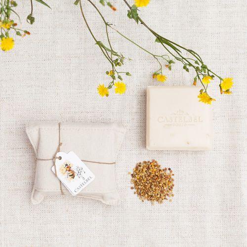 Luxusní tuhé mýdlo Honey 150g