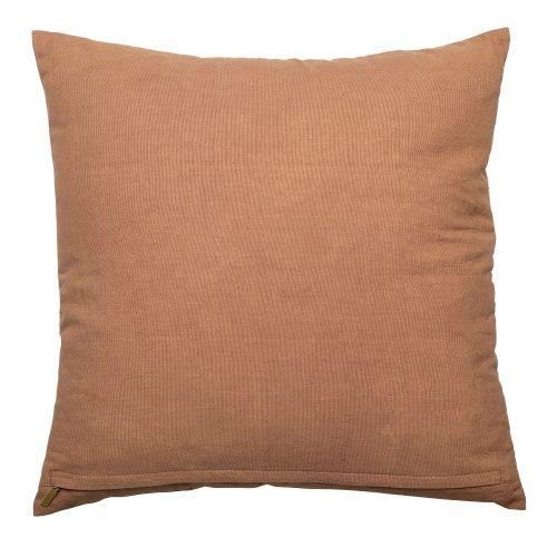 Bavlněný polštář Brown Cotton 50x50cm