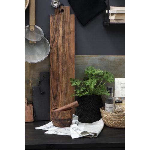 Dřevěný hmoždíř Oiled Acacia