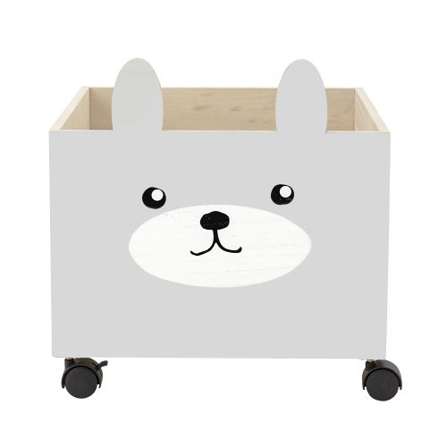 Dětský úložný box na kolečkách Little Bunny