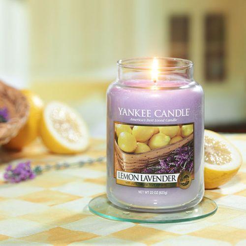Svíčka Yankee Candle 623gr - Lemon Lavender