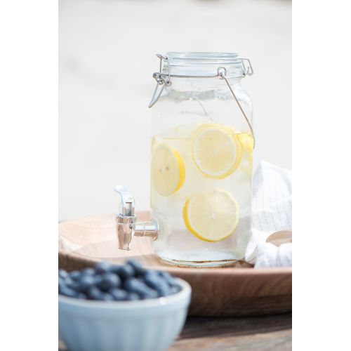 Skleněná nádoba na limonádu 2 l