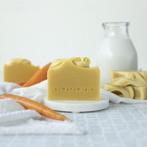 Přírodní mýdlo Creamy Carrot
