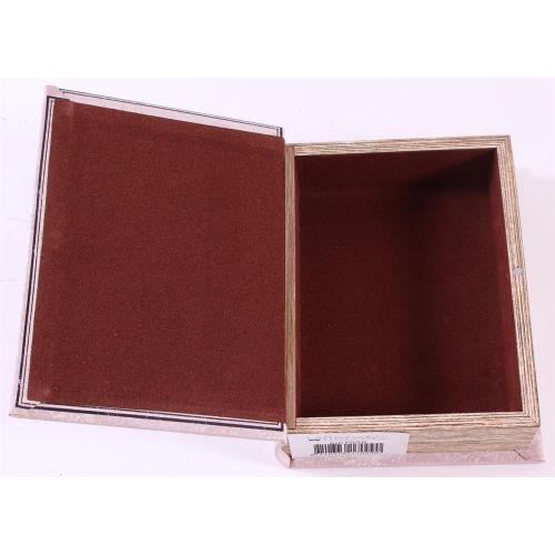 Dřevěná kniha s úložným prostorem The Pillars