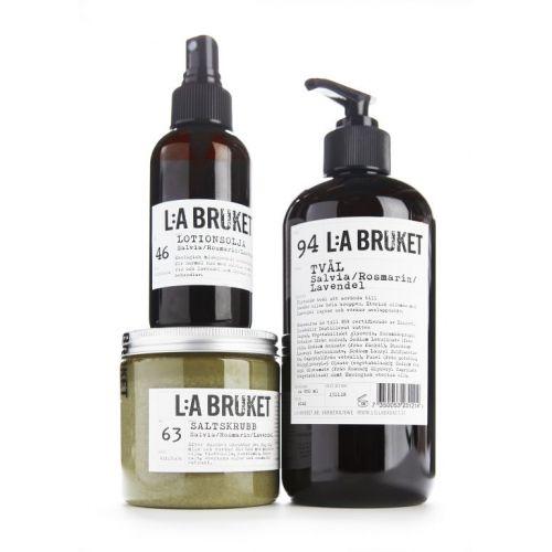 Tělový olej s šalvějí, rozmarýnem a levandulí 120 ml