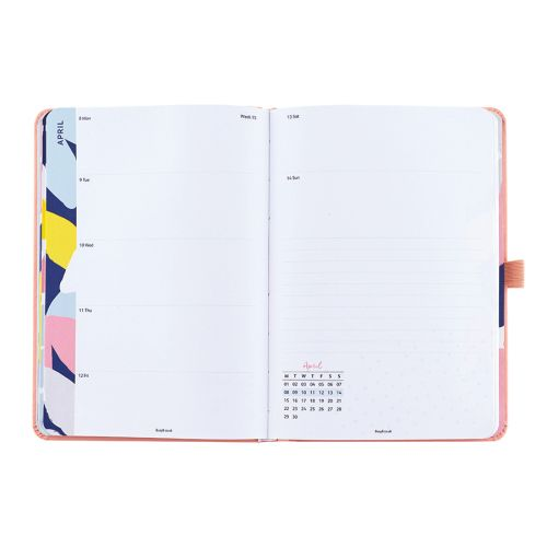 Diář 2019 Perfect Planner Pink
