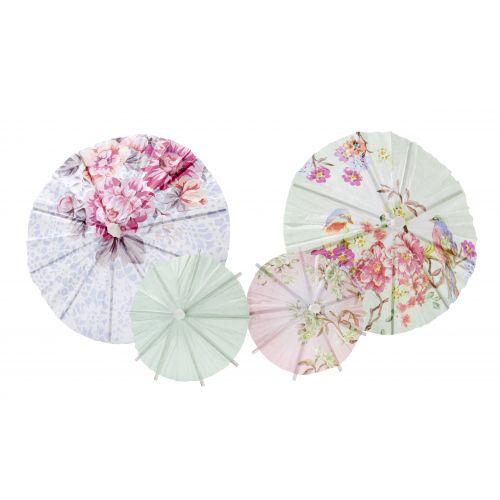 Papírové deštníky Romantic