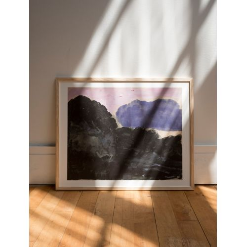 Autorský plakát Cloud 50x40 cm