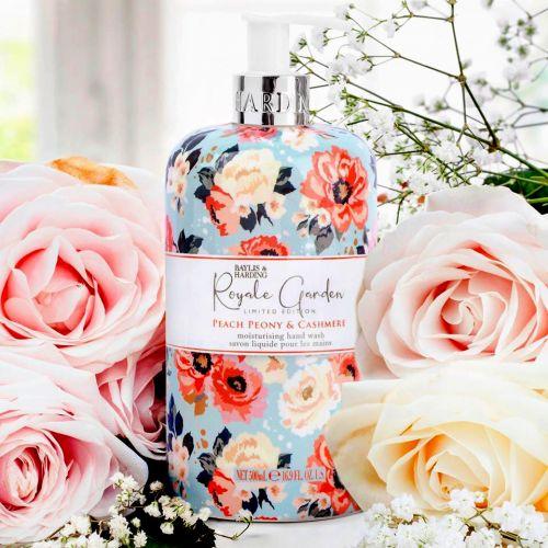 Tekuté mýdlo na ruce Peach Peony & Jasmine 500ml