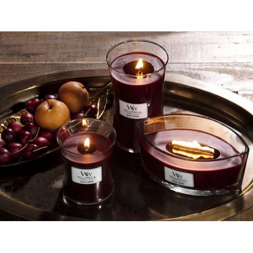 Vonná svíčka WoodWick Petite - Black Cherry 31 g