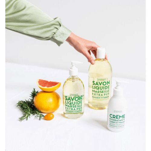 Hydratační mléko na tělo a ruce Rosemary 300ml