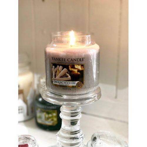 Svíčka Yankee Candle 411gr - Crackling Wood Fire