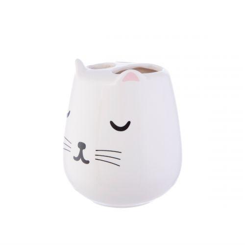 Stojánek na zubní kartáčky Cutie Cat