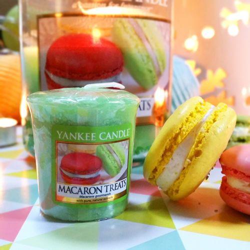 Votivní svíčka Yankee Candle - Makronky