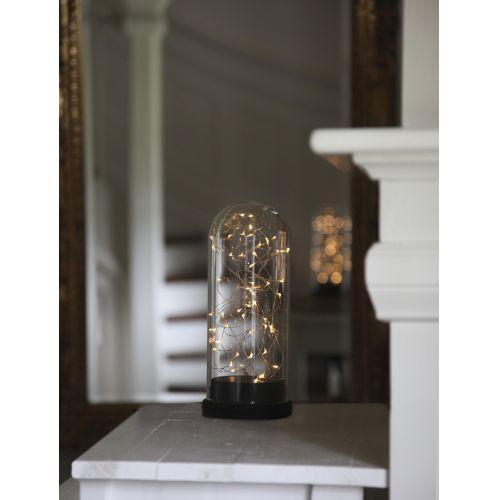 Světelná dekorace s LED drátkem