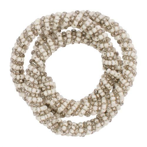 Ozdobné kroužky na ubrousky - Perle d'Argent