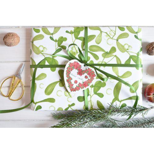 Vánoční balicí papír A1 Jmelí