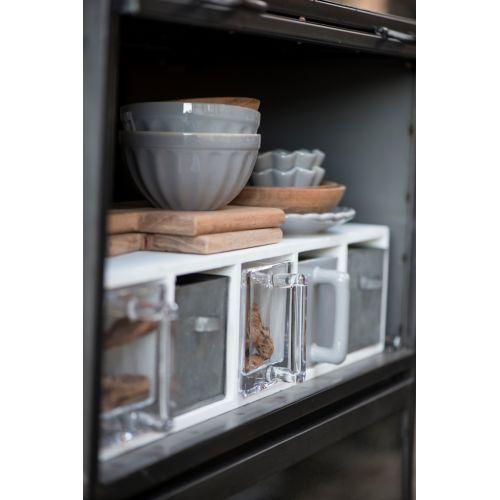 Kuchyňský zásobník - skleněný
