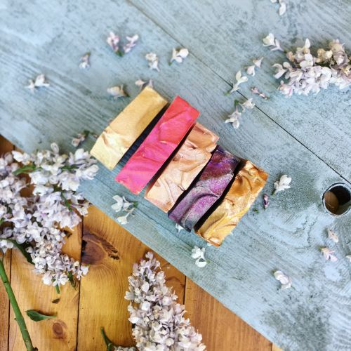 Přírodní mýdlo Ohnivý santal