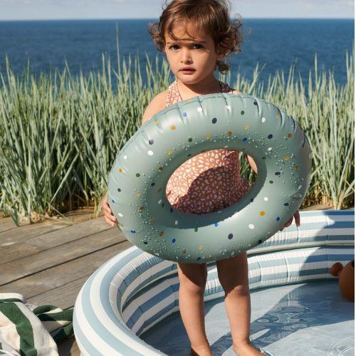 Nafukovací kruh Confetti Peppermint  Mix - 45 cm