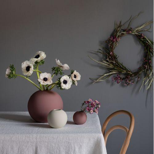Kulatá váza Ball Cinder Rose 20 cm