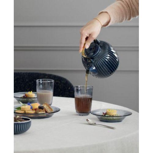 Porcelánová čajová konvice Hammershøi Indigo