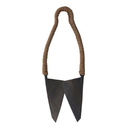 Kovové nůžky Antique Coal