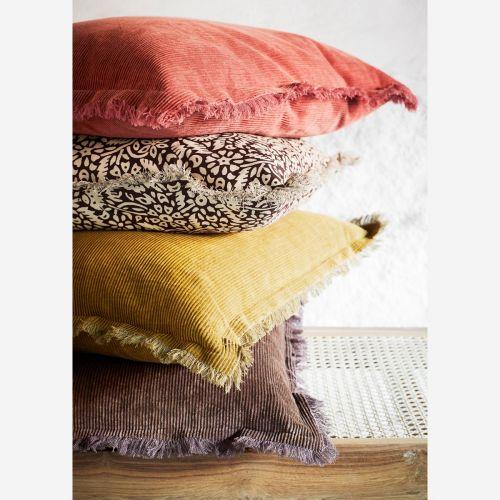 Manšestrový povlak na polštář Cotton Corderoy