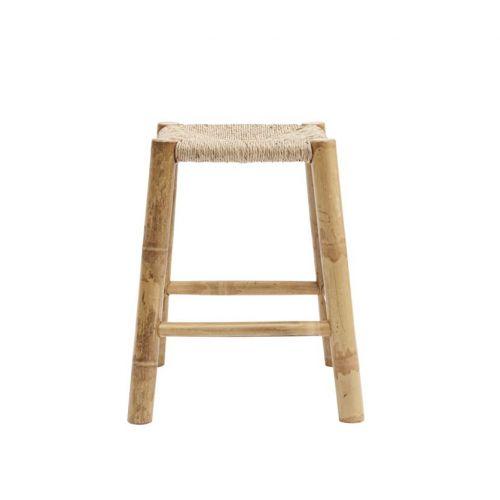 Bambusová stolička s výpletem Seagrass