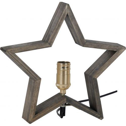 Stolní lampa ve tvaru hvězdy Lysekil Nature