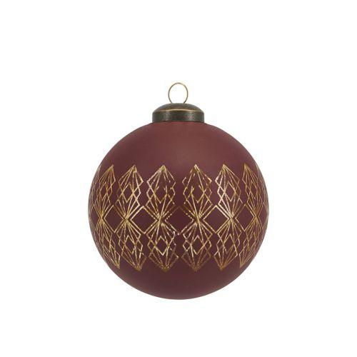 Vánoční baňka Burnt Henna