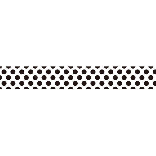 Japonská papírová páska Black Dot II.