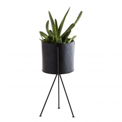 Stojan na květináč Black 34 cm