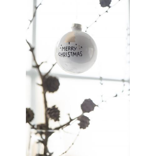 Vánoční baňka Merry Christmas