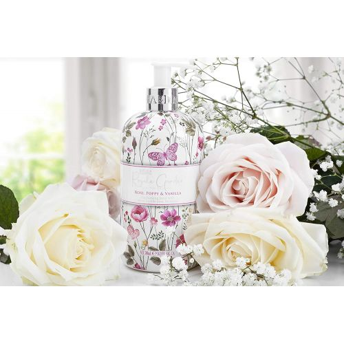 Tekuté mýdlo na ruce Rose, Poppy & Vanilla 500ml