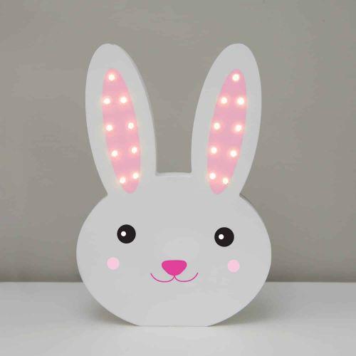 Svítící LED králíček