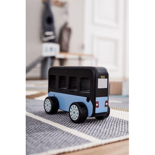 Dřevěný autobus Aiden Bus