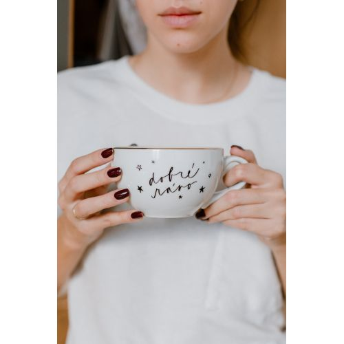 Porcelánový hrnek Dobré ráno - 300 ml