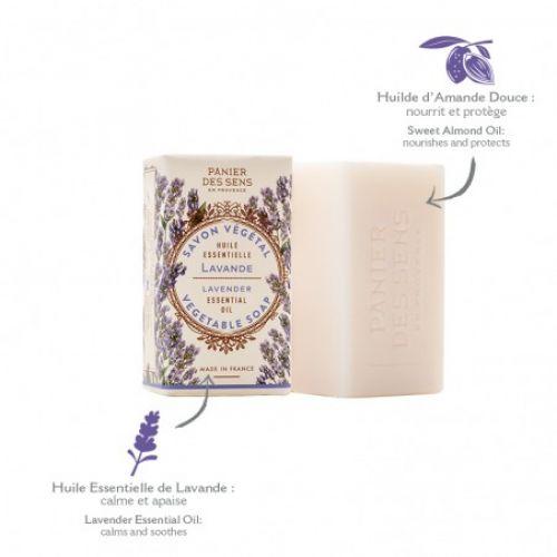 Relaxační extra jemné mýdlo - Levandule