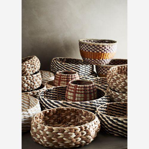 Ručně pletený košík Paper Rope Basket