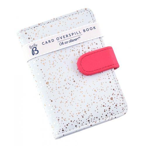Pouzdo na doklady Grey & Gold Dots