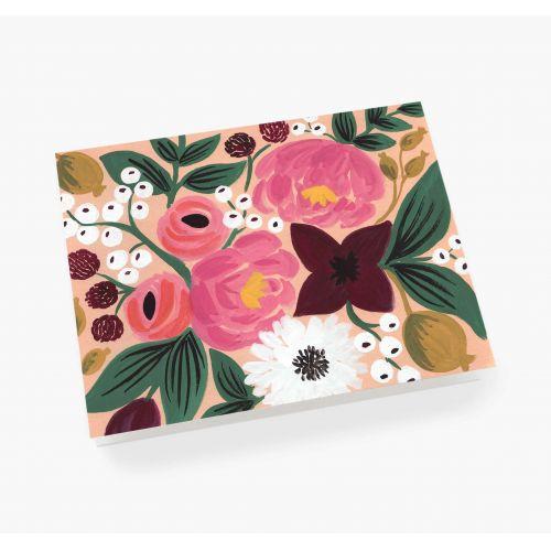 Přání s obálkou Vintage Blossoms Peach