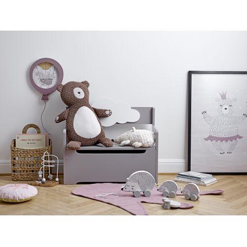 Dětský plakát Fairy Bear Purple 70×50 cm