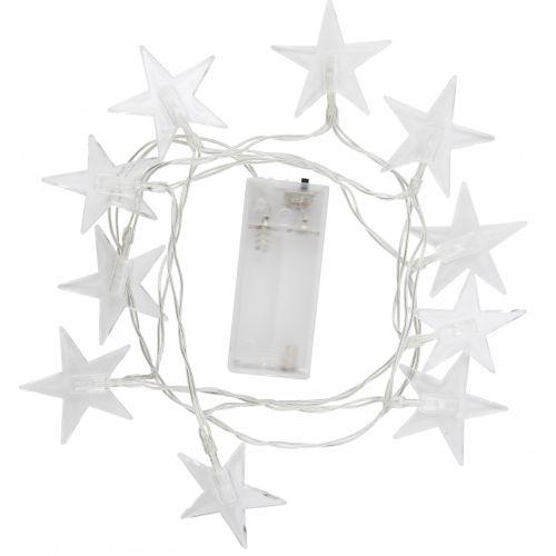Světelný řetěz s hvězdičkami